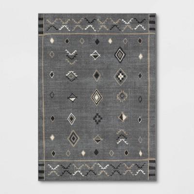 5'x7' Boman Bazaar Rug Gray - Project 62™