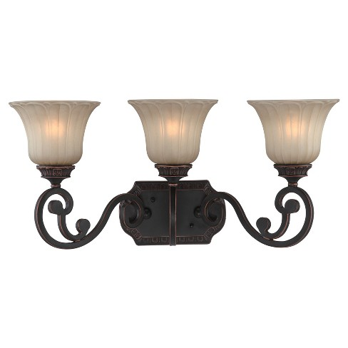 Crescentia Vanity Collections Wall Lights - Antique Bronze - Lite Source - image 1 of 2