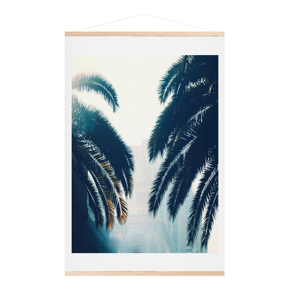 Chelsea Victoria California Blue Art Print and Hanger 16