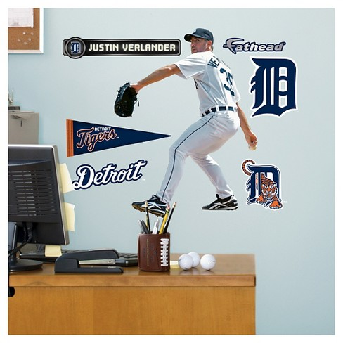 MLB Detroit Tigers Justin Verlander Fathead Wall Decal Set - image 1 of 1