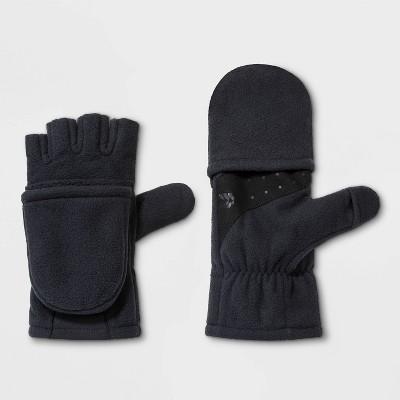 Men's Fleece Fitness Flip Top Mittens - All in Motion™