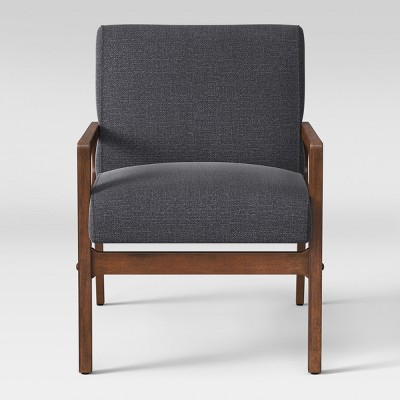 Peoria Wood Arm Chair Gray - Project 62™