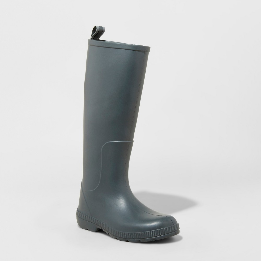 Image of Women's Totes Cirrus Claire Tall Rain Boots - Gray 7