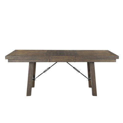 Dex Dining Table Walnut Brown - Picket House Furnishings