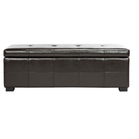 Maiden Large Tufted Storage Bench - Safavieh® - image 1 of 4