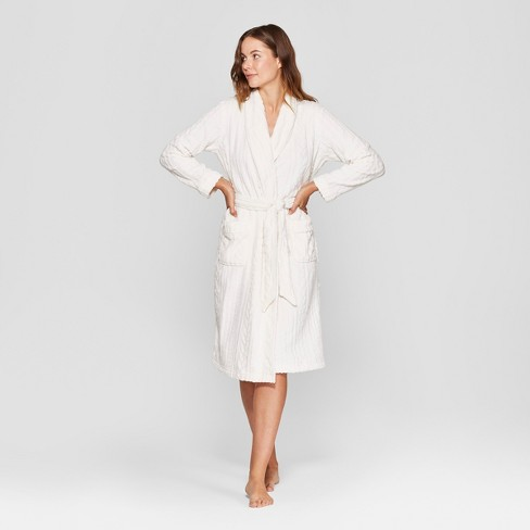 Women s Cozy Textured Robe - Gilligan   O Malley...   Target 9c8ec9a15