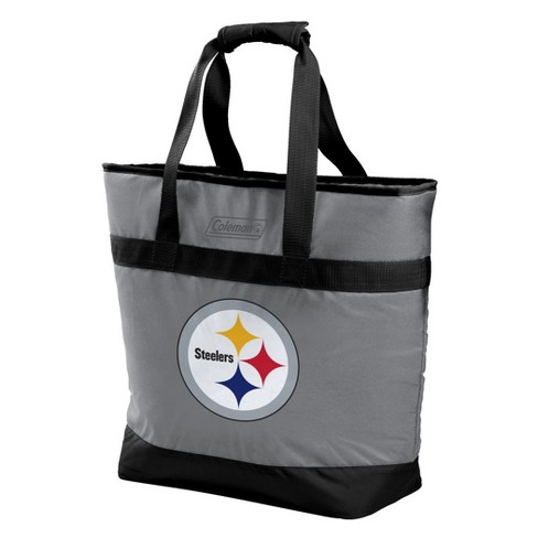 online retailer 7d9ca c81fa NFL Pittsburgh Steelers Rawlings 30-Can Soft Sided Cooler Tote