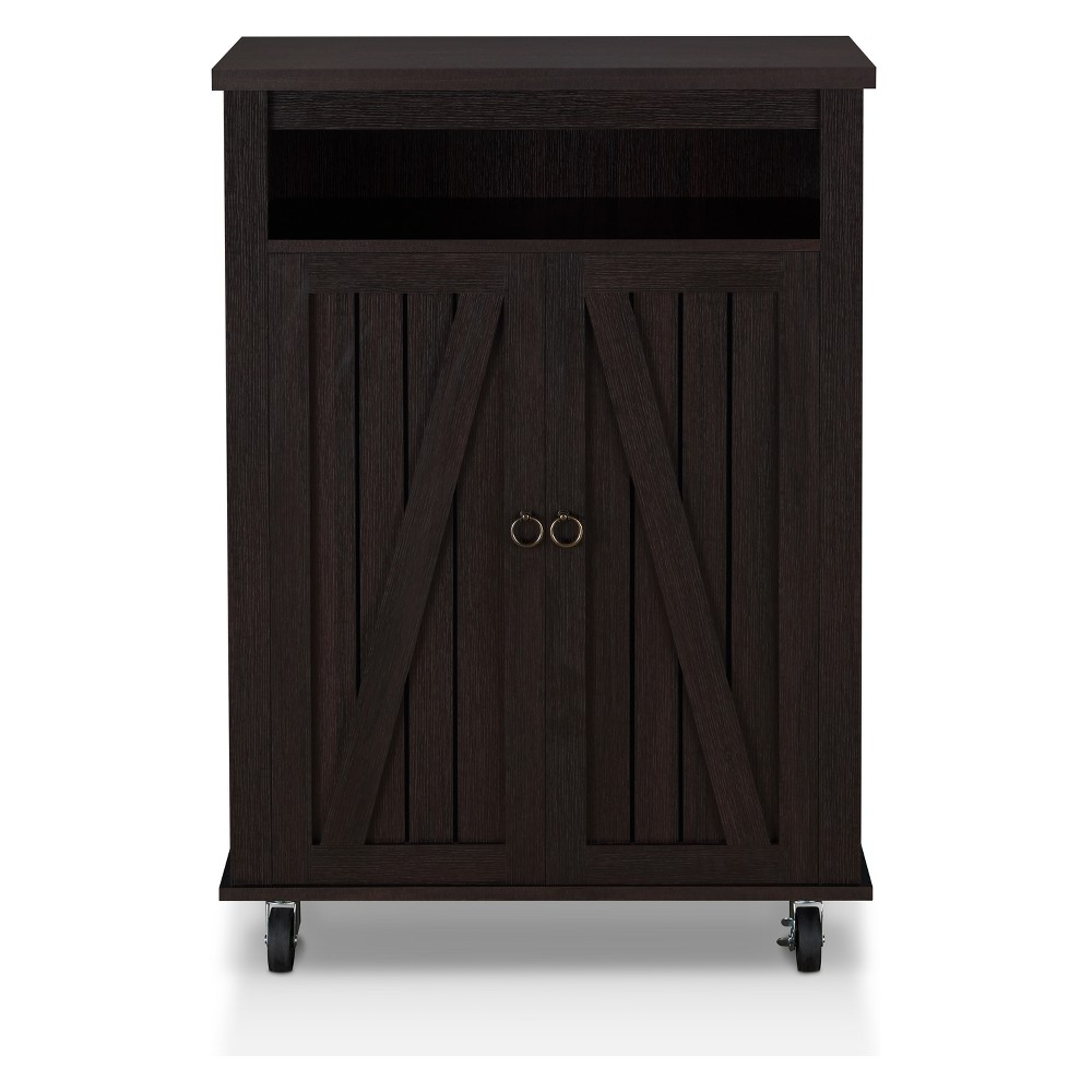 Image of Iohomes Fryman Transitional Shoe Cabinet Espresso - Homes: Inside + Out, Espresso Brown