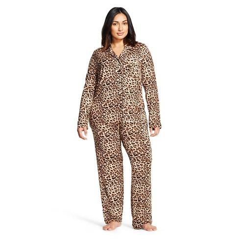ccd8a41db0a7 Women s Pajama Set - Gilligan   O Malley™ - Black 1X   Target