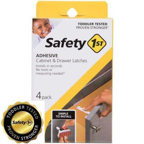 Safety 1st Adhesive Cabinet Latch for Childproofing - image 1 of 4