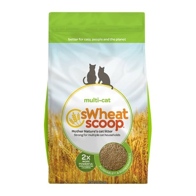 sWheat Scoop Multi-Cat Natural Cat Litter