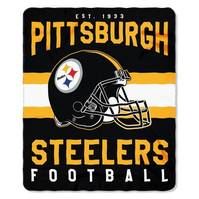 The Northwest Company Pittsburgh Steelers Fleece Throw , Black