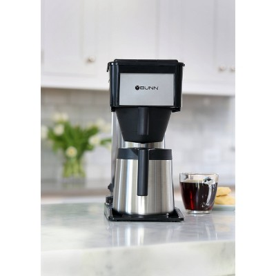 BUNN BT Velocity Brew 10 Cup Thermal Coffee Brewer, Silver