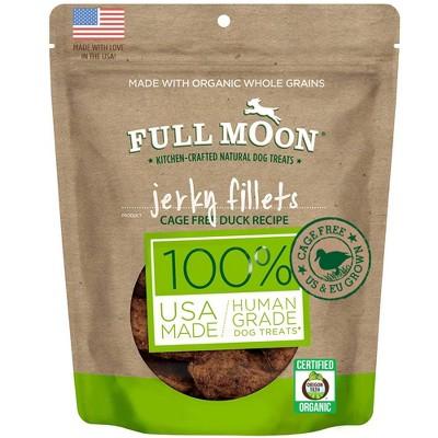 Full Moon Duck Jerky Fillet Dog Treats- 8oz