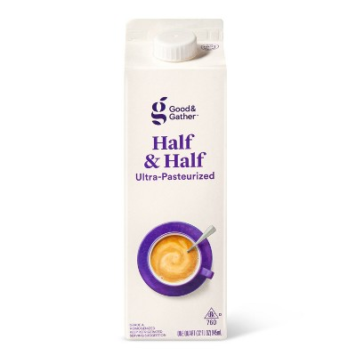 Half & Half - 1qt - Good & Gather™