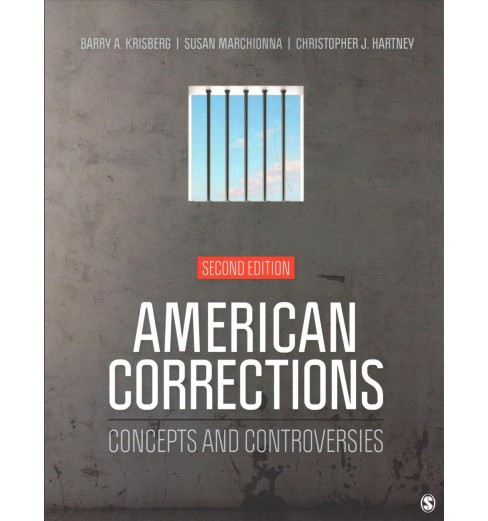 American Corrections + Careers in Criminal Justice -  (Paperback) - image 1 of 1