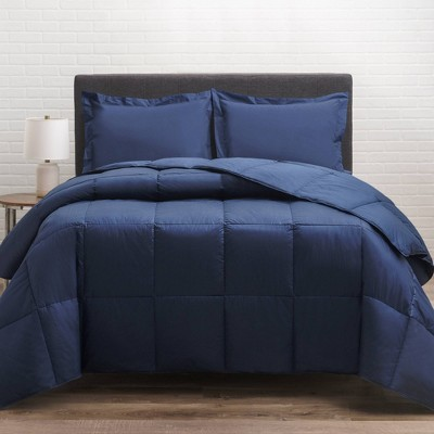 Cotton Twill Down Comforter - Allied Home