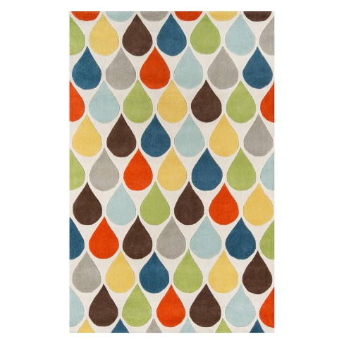 Delhi James Geometric Tufted Accent Rug - Momeni - image 1 of 4