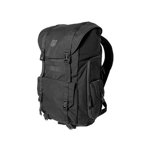Cannae Pro Gear 500D Nylon 34 Liter Sarcina Open Top Rally Pack Backpack, Black - image 1 of 6