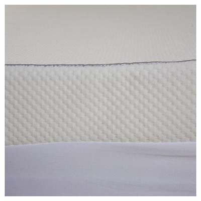 Waterproof Mattress Cover White (King)- ComforPedic Loft