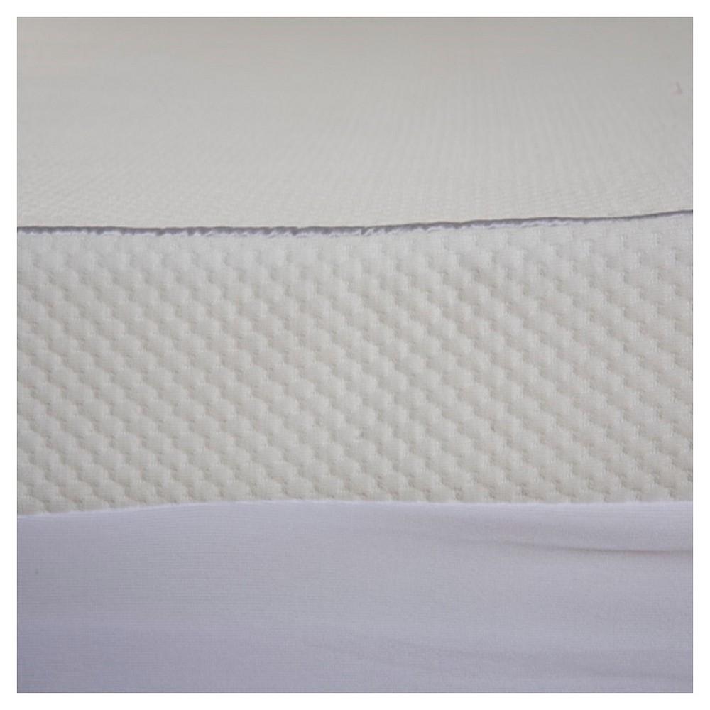 ComforPedic Loft Waterproof Mattress Cover - White (Queen)