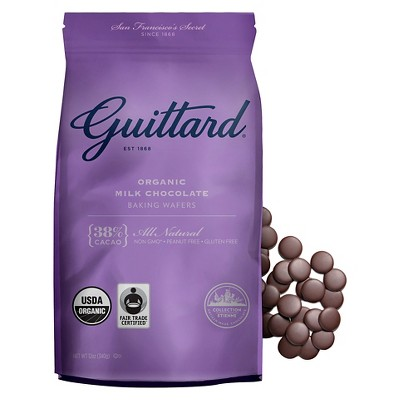 Baking Chips & Chocolate: Guittard Milk Chocolate Baking Wafers