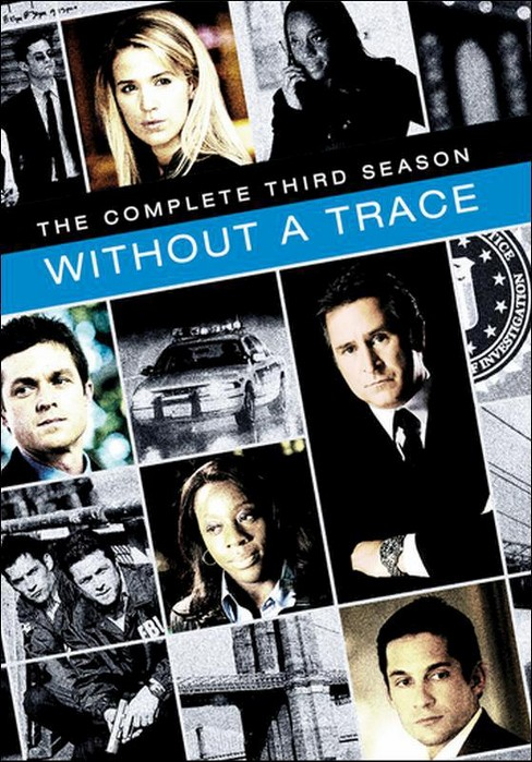 Without a trace:Complete third season (DVD) - image 1 of 1