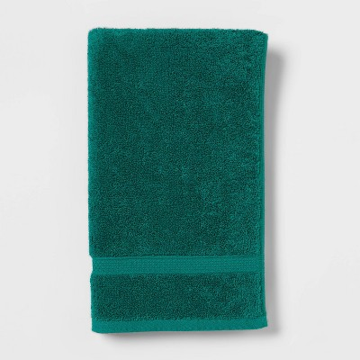 Perfectly Soft Solid Hand Towel Bluff Green - Opalhouse™