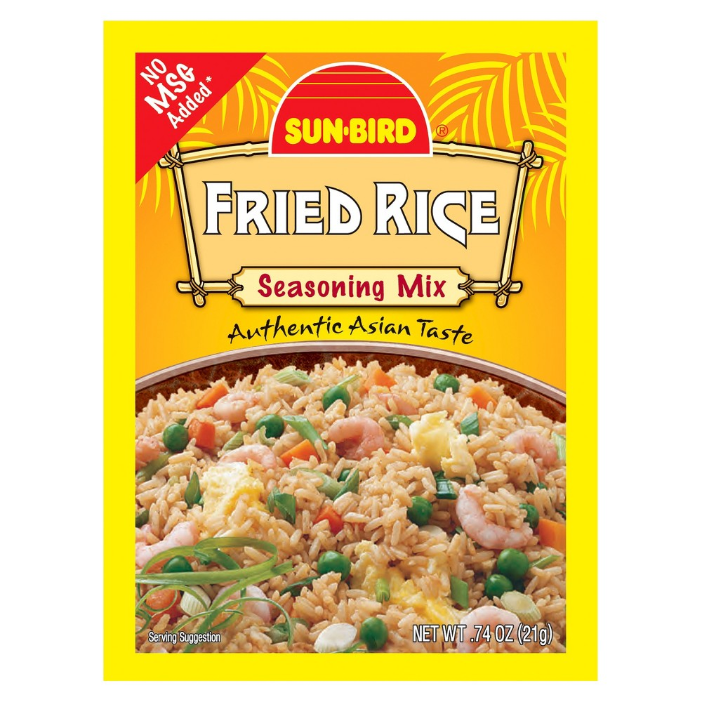 Sun Bird Fried Rice Seasoning Mix 0 74oz