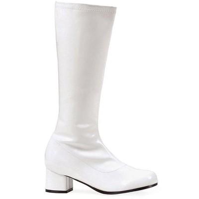 White Dora Gogo Child Costume Boots