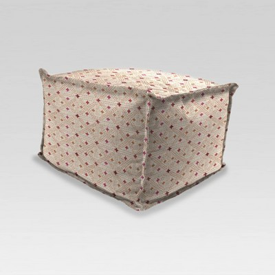 Outdoor Ottoman Seat Cushion Glenville Sunset - Jordan Manufacturing