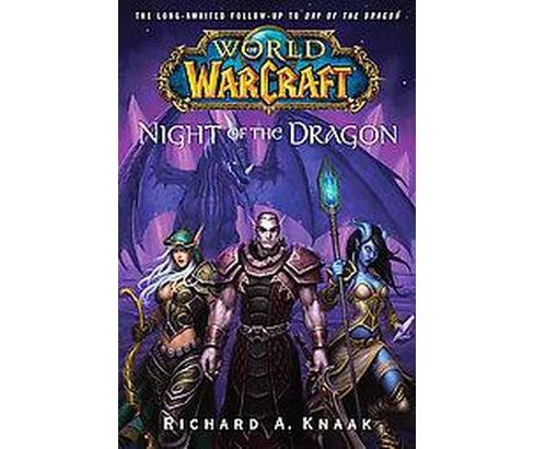 Night of the Dragon (Paperback) (Richard A. Knaak) - image 1 of 1