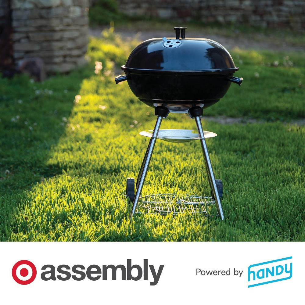 Charcoal Grill Assembly Powered By Handy