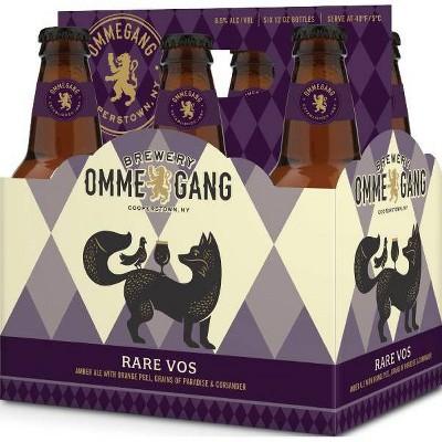 Ommegang Rare Vos Amber Ale Beer - 6pk/12 fl oz Bottles
