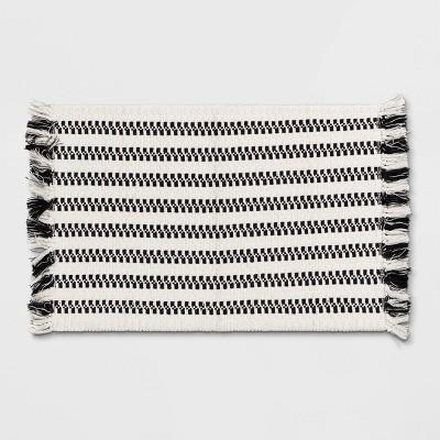 "27""x45"" Accent Rug Black & White - Pillowfort™"