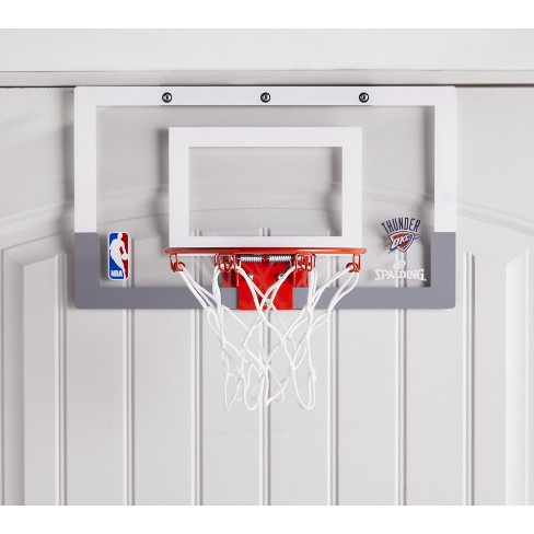 Spalding NBA Slam Jam Over-The-Door Team Edition Basketball Hoop - image 1 of 4