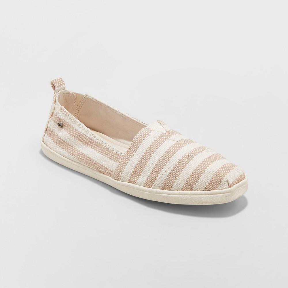 Women's Mad Love Lillianna Slip On Sneakers - Tan 7.5