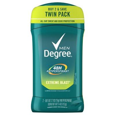Degree Men 48-Hour Extreme Blast Antiperspirant & Deodorant Stick - 2.7oz
