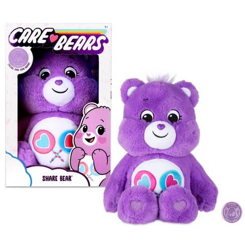Message Recorder Stuffed Animals, Care Bears Basic Medium Plush Share Bear Target