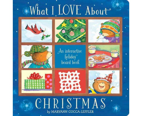 What I Love About Christmas (Hardcover) (Maryann Cocca-Leffler) - image 1 of 1