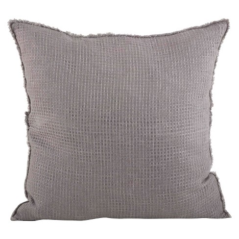 Waffle Weave Design Throw Pillow - image 1 of 1