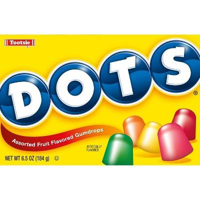 Dots Assorted Fruit Flavored Gumdrops - 6.5oz