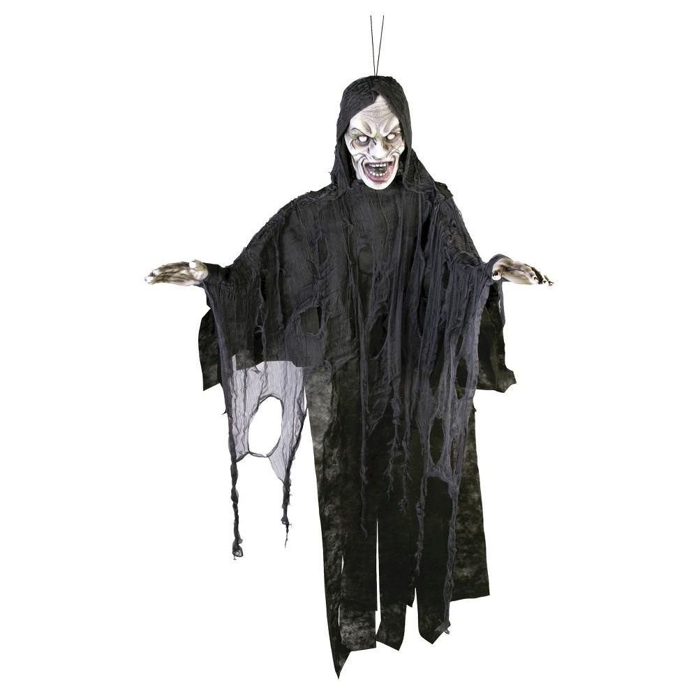 Image of 6 ft. Halloween Polyfoam Black Screamer
