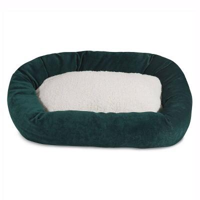 Majestic Pet Villa Sherpa Bagel Dog Bed
