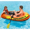Intex Explorer Pro 2 Person Youth PVC Boat Raft for Fishing & Rafting (2 Pack) - image 4 of 4