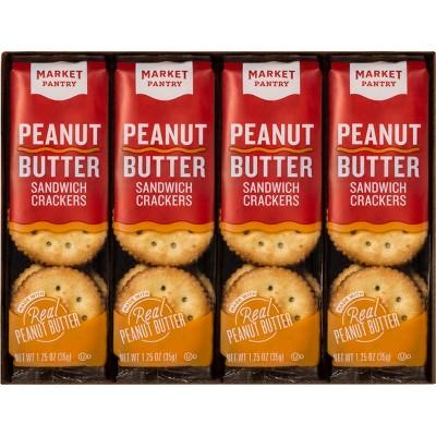 Peanut Butter Sandwich Crackers 8ct - Market Pantry™