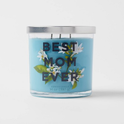 14oz Glass Jar 3-Wick Best Mom Ever Candle - Opalhouse™