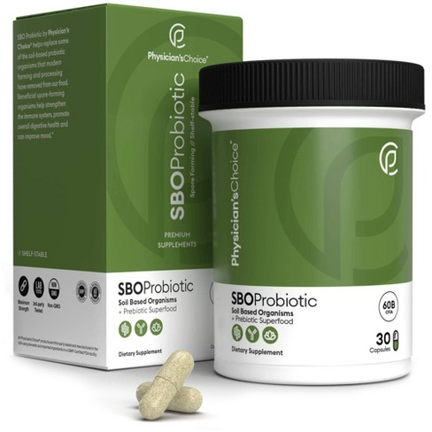 Physician's Choice SBO Probiotic Capsules - 30ct - image 1 of 4