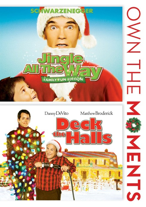 Jingle all the way/Deck the halls (DVD) - image 1 of 1