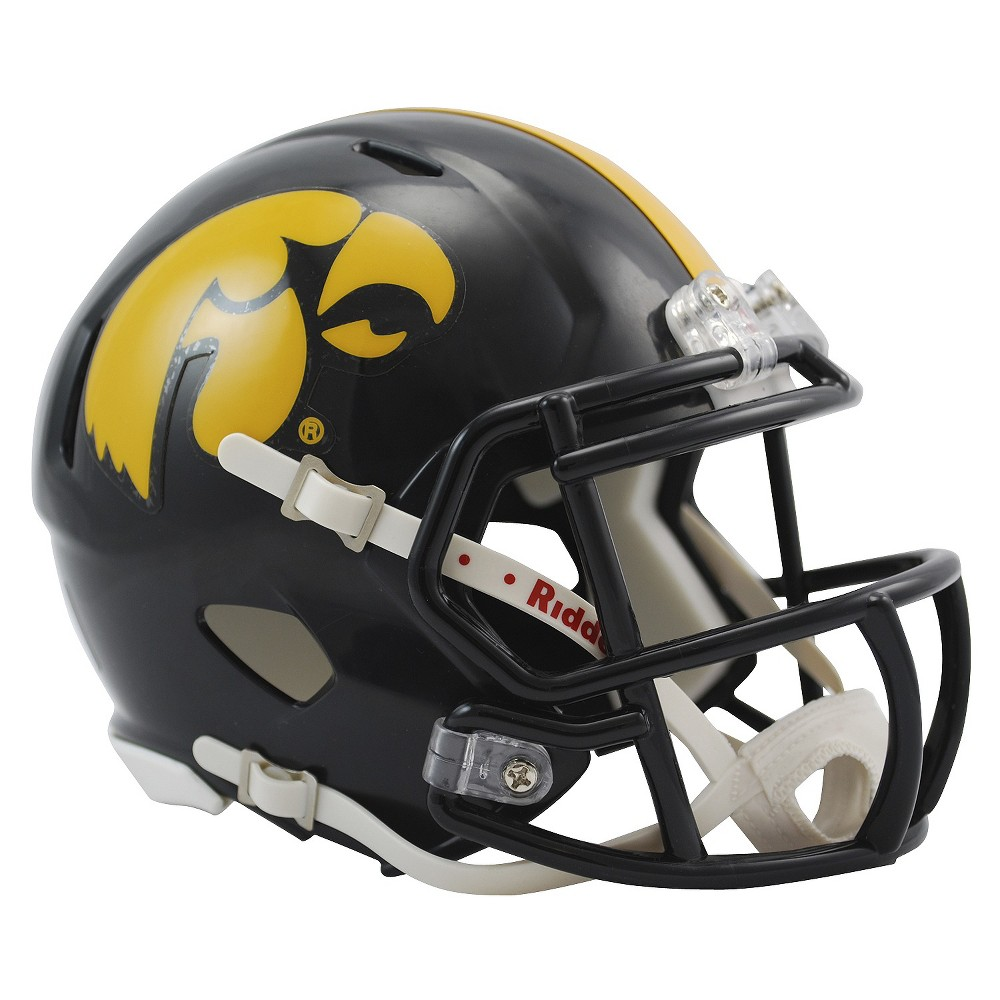 Iowa Hawkeyes Riddell Speed Mini Helmet - Black